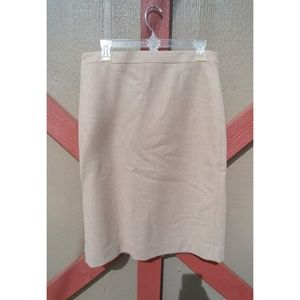 J Crew pink pencil skirt
